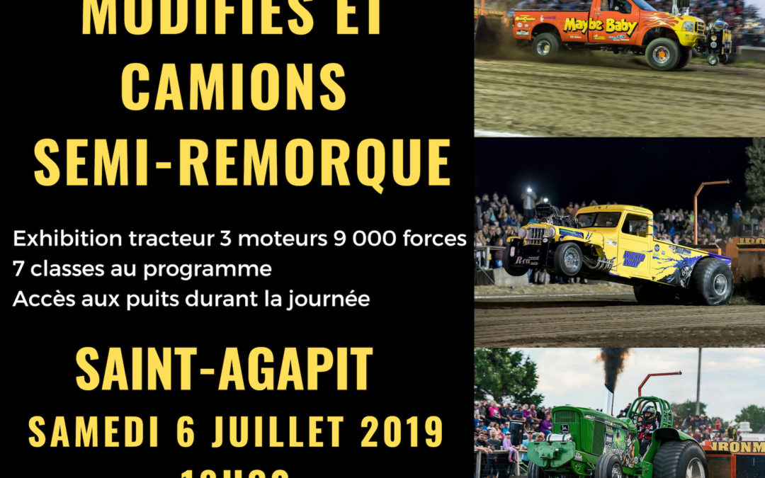 Terrain d'exposition de Saint-Agapit 2019